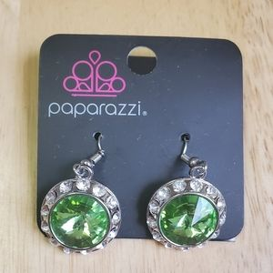 Paparazzi Turn On The Sparkle Earrings